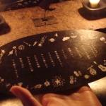 神楽坂の帽子屋galonで、ルネッサンスをテーマにしたお食事会。