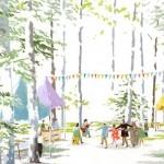森のカフェフェスinニセコへ旅します。(2012.6/30(土))