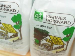 BIOの小麦粉パッケージ。小麦粉は本当に種類がたくさんありました。さすが粉モノ王国!!