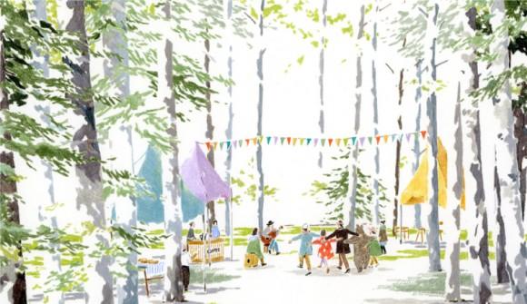 森のカフェフェス in ニセコ | 第2回カフェ&ミュージックフェスティバル 2012.6.30.SAT